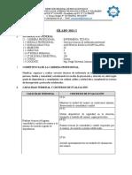 Silabo - Asistenc. Basica Hosp. - Enf III