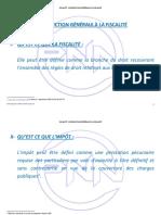 INTRODUCTION GÉNÉRALE À LA FISCALITÉ PAYSAGE