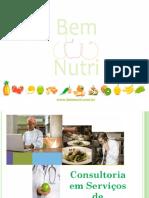 Consultoria em Serviços de Alimentação