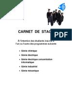 CARNET  DE  STAGE 02 (Revise)