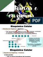 Proteínas e Enzimas - 1C - 8° Ciclo