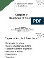 WADE- Ch 11-Reaccion de Alcoholes