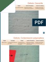 Defectos en Los Textiles