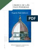 Eugenio Raúl Zaffaroni - En busca de las penas perdidas