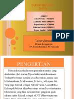 KELOMPOK 3 TUBERCLOROSIS