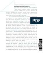 ICA Concepción no aplica accesoria del 30 si procede sustitutiva