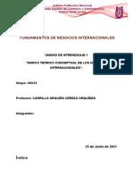 Unidad 1_Marco Teorico Conceptual de Los Negocios Internacionales_Equipo 1