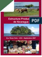 Estructura Productiva Nicaragua