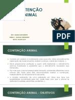 Contenção Animal