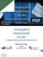 Introdução à Improvisação No Jazz- 2020- Glauber SANTIAGO