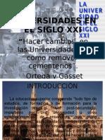 UNIVERSIDADES EN EL SIGLO XXI-DIAPOS