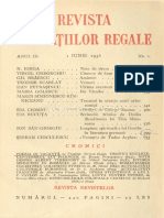 Revista fundațiilor regale iunie 1936