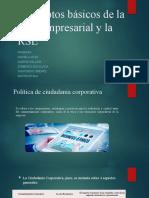 Conceptos básicos de la ética empresarial y la RSE