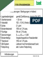 Anforderungen Holland