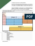Cómo se clasifican los elementos en la tabla periódica