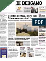 L' Eco di Bergamo 31 Marzo 2020