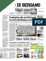 L Eco di Bergamo 29 Marzo 2020