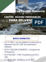 DIAPOSITIVAS DE ESTANDARES DE CALIDAD DE AGUA