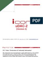 NuForce Icon-2 DAC & Headphone Amp Manual 22-Feb-2011