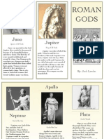 Roman Gods Brochure 1