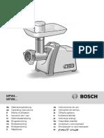 Bosch MFW45020 Meat Grinder