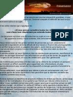 """Présentation """"Sciences Oubliées"""" - LES ÉNERGIES LIBRES (Aperçu du Menu et Première approche)"""