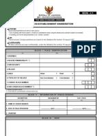 Questionnaire Economic Census - SE06-L1