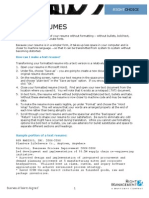 Converting a Resume to Text[1]