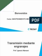 TRANSMISIÓN MEDIANTE ENGRANAJES