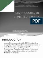3- LES PRODUITS DE CONTRASTE IODES