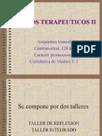 MEDIOS TERAPEUTICOS II presentacion