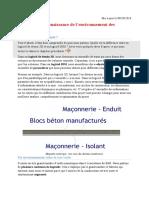 5-Affinez votre connaissance de l'environnement des logiciels BIM