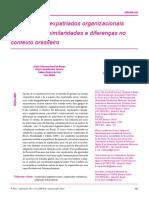 Texto 2 - Adaptação de expatriados organizacionais e voluntários