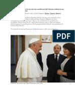 La politica olandese che ha ricevuto una onorificenza dal Vaticano continua la sua difesa a favore dell