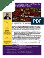 Church Bulletin 10/27