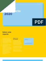 Reporte de Impacto 2020 de Mercado Libre