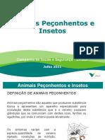 Animais Peçonhentos e Insetos - 2011
