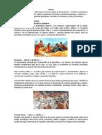 Periodos de Los Mayas 2021