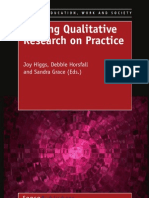 writing qualitative research on practice