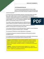 Definición  y clasificación de la Discapacidad Intelectual