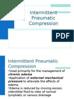 Intermittent Pneumatic Compression 1011