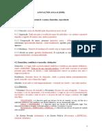 ESQUEMA DE AULA VI.2 - ANOTAÇÕES