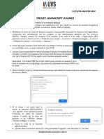 Projet Javascript Avance s2 p3 Et p4 Master Sriv
