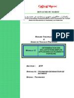 116064561 M12 Determination Sollicitations Simple BTP TDB