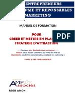 Manuel Strategie d'Attraction 2 - Partie 1 Les Fondamentaux