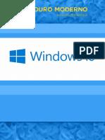 Manual Windows 10 - Ouro Moderno. Ensino Dinâmico