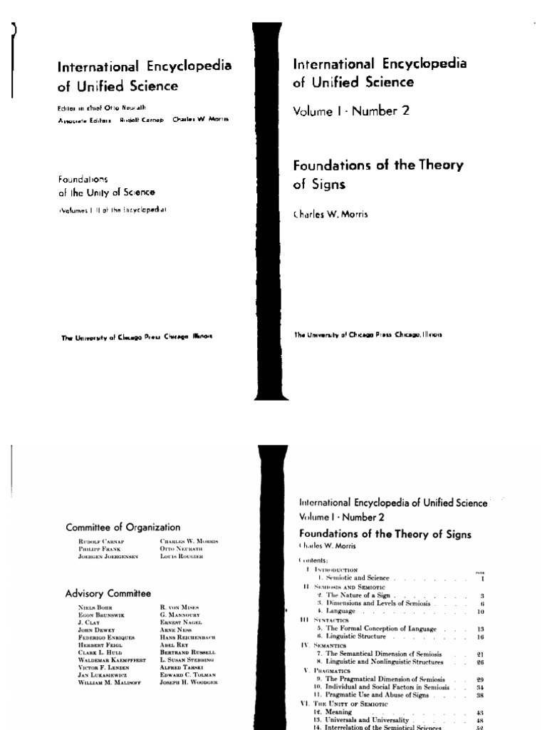 Morris 1938 Foundations of Theory of Signs