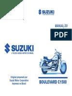 Manual do Proprietário Boulevard C1500 _ Março2007