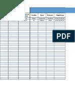 Modele Fichier Clients