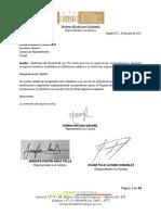 5. Proyecto de Ley. Castigo a quienes  apliquen biopolímeros en procedimientos estéticos y de belleza.